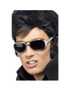 Lunettes Elvis argentées | Accessoires