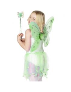 Aile de papillon enfant vertes | Déguisement Enfant