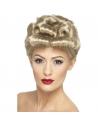 Perruque Blond bouclée années 40 | Accessoires