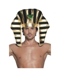 Coiffe pharaon or et noire   Accessoires