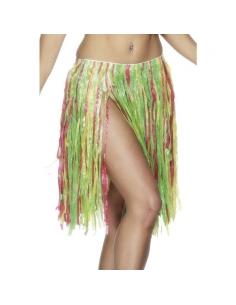 Jupe hawaïen multicolore | Déguisement