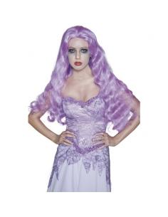 Perruque manoir gothique violette | Accessoires