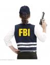 Set Agent du FBI  Enfant (gilet, casquette)