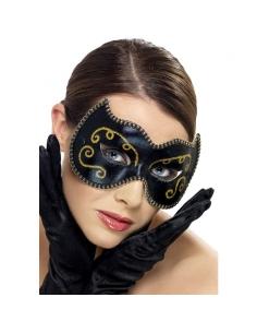 Masque perse noir et doré | Accessoires