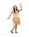 Déguisement Humour Hawaïenne Homme (combinaison femme forte avec bikini et jupe hula)