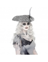 Kit Maquillage Vaisseau Fantôme (fard vert, blanc, marron, gris et rouge, crayon noir, applicateur, 2 éponges) | Accessoires