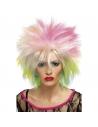 Perruque années 80 multicolore | Accessoires
