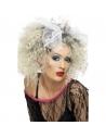 Perruque sauvageonne avec noeud blonde   Accessoires