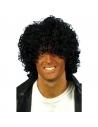 Perruque afro bouclée noire | Accessoires