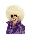 Perruque méga afro blonde | Accessoires