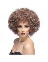 Perruque afro brune effet naturel | Accessoires