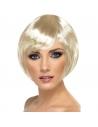Perruque carrée frange blonde | Accessoires
