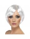 Perruque carrée frange blanche | Accessoires
