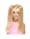 Perruque blonde avec couette | Accessoires