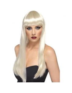 Perruque beauté blonde   Accessoires