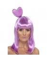 Perruque bonbons lilas | Accessoires