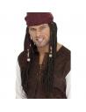 Perruque pirate avec foulard | Accessoires