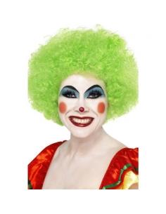 Perruque clown fou verte | Accessoires