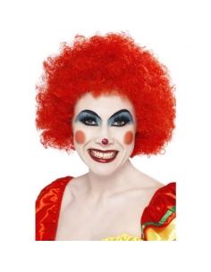 Perruque clown fou rouge   Accessoires