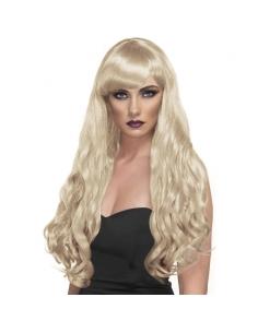 Perruque désir blonde longue | Accessoires