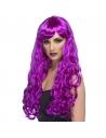 Perruque désir violet longue | Accessoires