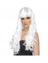 Perruque désir blanche longue | Accessoires