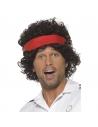 Perruque joueur de tennis avec bandeau   Accessoires