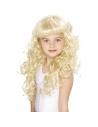 Perruque enfant princesse blonde bouclée | Accessoires