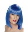 Perruque glamour courte bleue | Accessoires