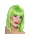 Perruque glamour coeurte verte   Accessoires