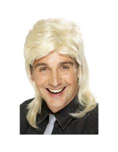 Perruque années 80 Jason blonde foncée | Accessoires