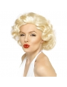 Perruque Maryline blonde   Accessoires