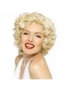 Perruque Maryline Monroe coeurte | Accessoires